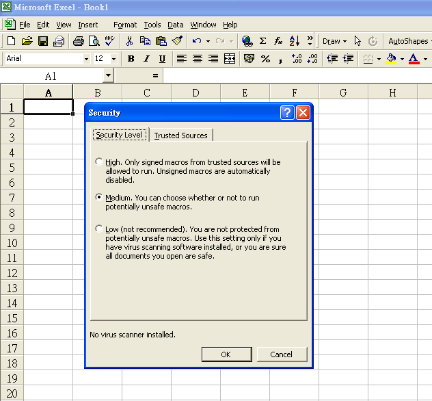 Excel enable disable automatic calculation vba